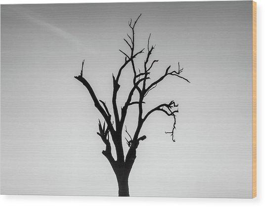 Missing Wood Print