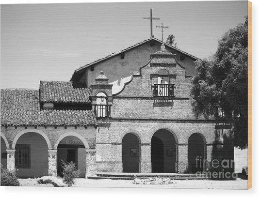 Mission San Antonio De Padua No1 Wood Print by Mic DBernardo
