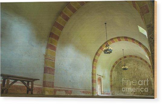 The Granary At Mission San Jose  Wood Print
