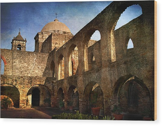 Mission San Jose Wood Print
