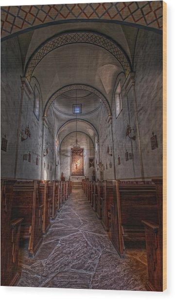 Mission San Jose Wood Print