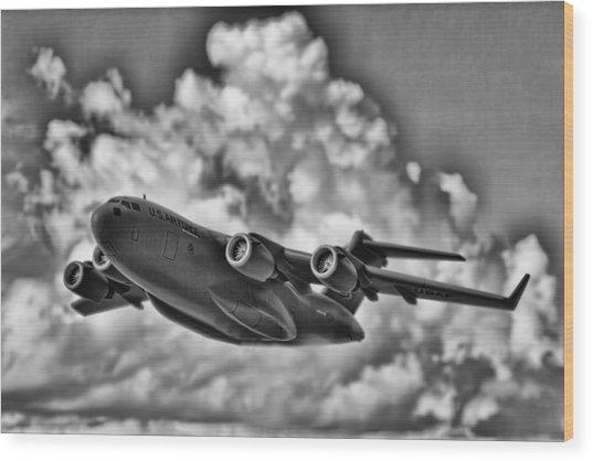 Mission-strategic Airlift Wood Print