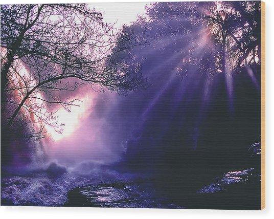 Mist Of Ireland Wood Print by Matthew Altenbach