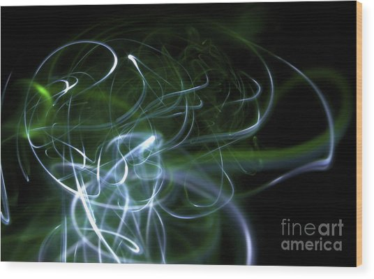 Mist Wood Print by Xn Tyler