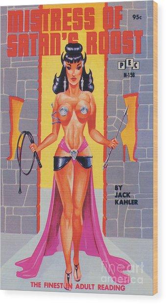 Mistress Of Satan's Roost Wood Print