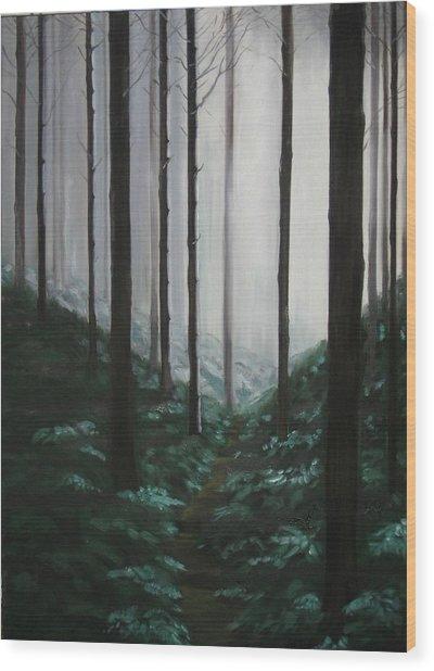 Mists Of Past Times Wood Print by Maren Jeskanen