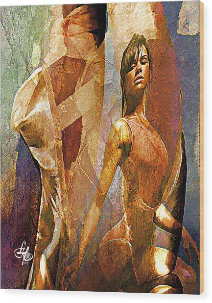 Misty Copeland Wood Print