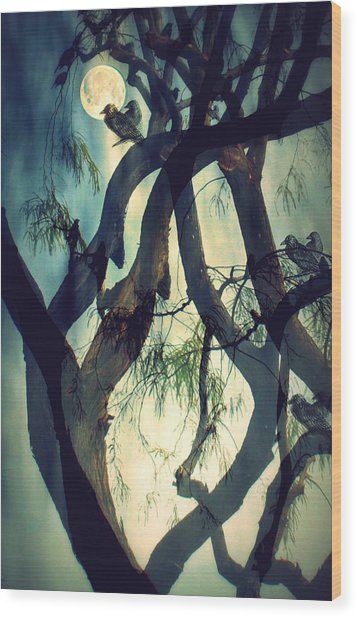 Misty Morning-sold Wood Print
