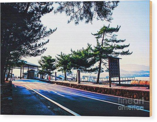 Miyajima Wood Print