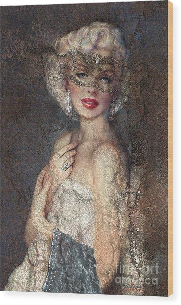 Mm Venice  Wood Print