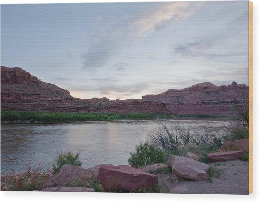 Moab Utah. Wood Print