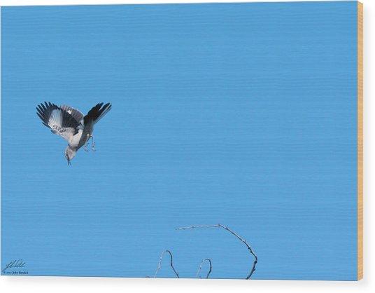 Mockingbird Down Wood Print