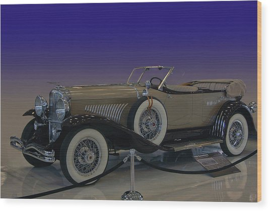 Model J Lebaron Phaeton Wood Print