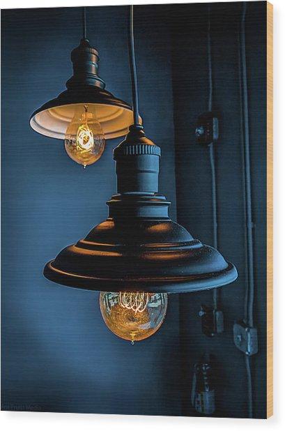 Modern Lighting Wood Print