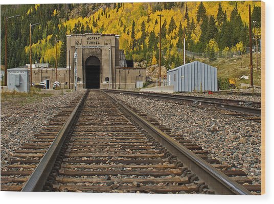 Moffat Tunnel Wood Print