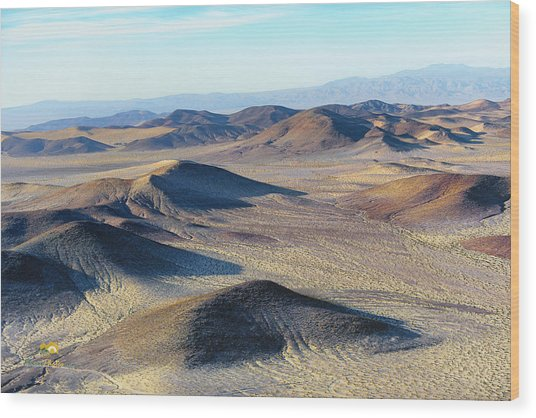 Wood Print featuring the photograph Mojave Desert by Jim Thompson