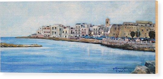 Mola Di Bari Wood Print