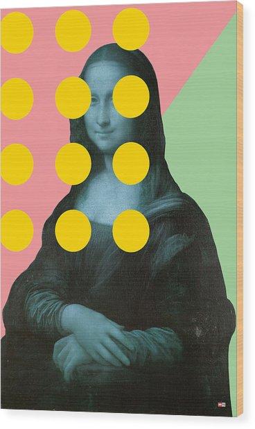 Mona 2 Wood Print