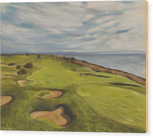 Monarch Bay Golf Course Wood Print