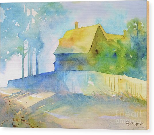 Monhegan Island Morning Wood Print