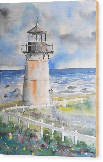 Montara Lighthouse Wood Print