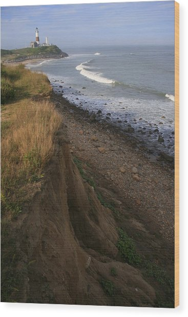 Montauk Surf And Turf Wood Print