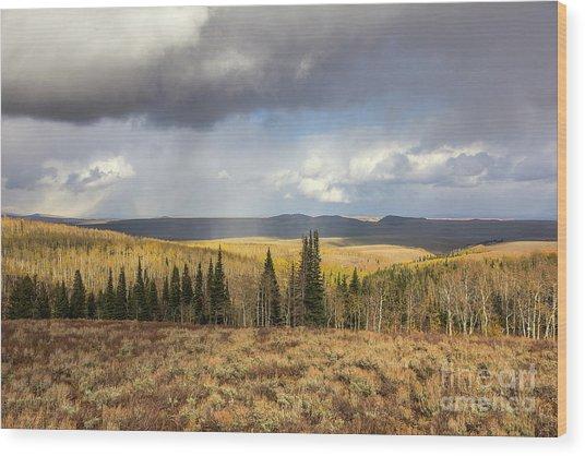 Monte Cristo Wood Print