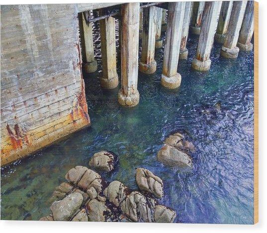 Montery Bay Wood Print