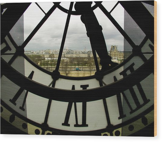 Montmartre From Musee D'orsay Wood Print