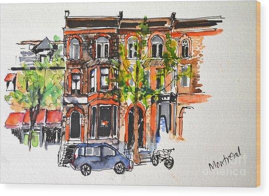Montreal 1 Wood Print