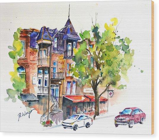 Montreal - 2 Wood Print