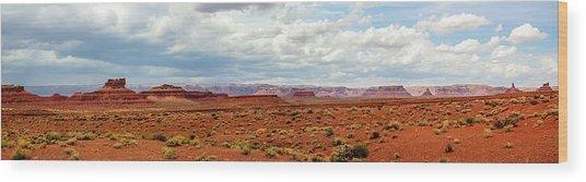Monument Valley, Utah Wood Print
