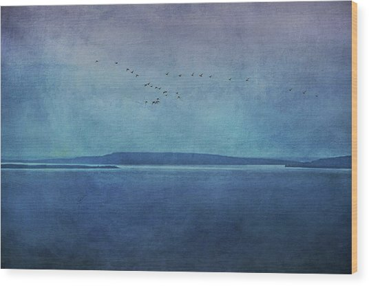 Moody  Blues - A Landscape Wood Print