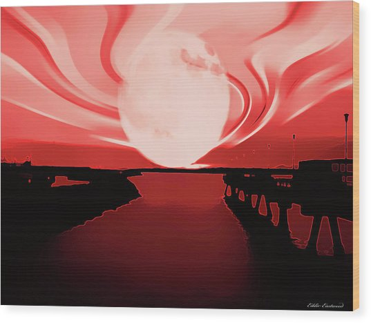 Moon Magic Wood Print