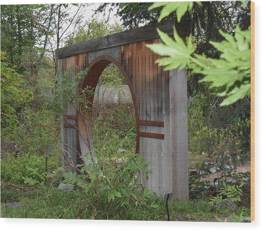 Moongate Wood Print
