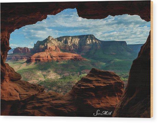 Moose Ridge 06-056 Wood Print
