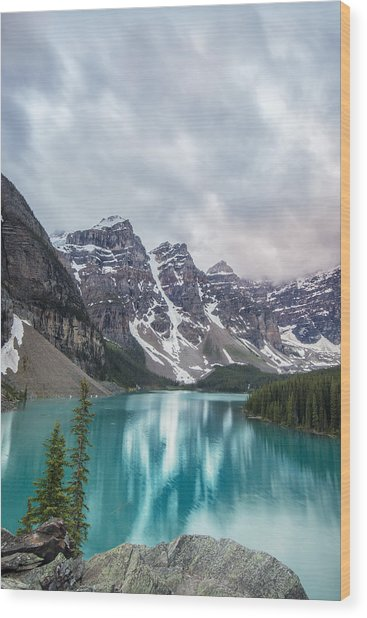 Moraine In The Summer Wood Print