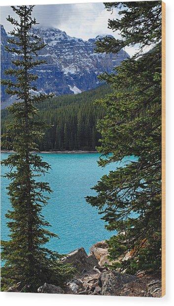 Moraine Lake 3 Wood Print