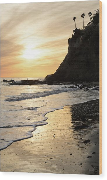 More Mesa Sunset West Wood Print