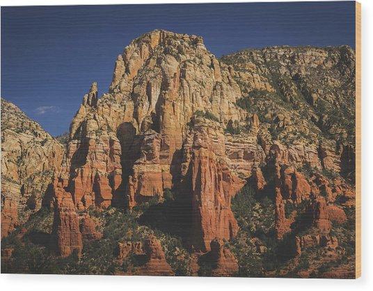 Mormon Canyon Details Wood Print