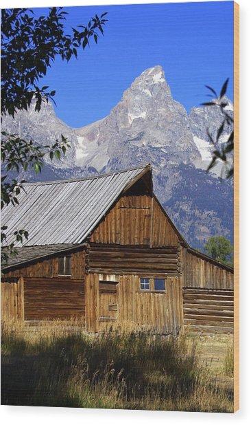Mormon Row Barn  1 Wood Print