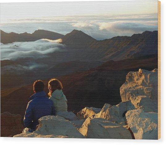 Morning At Haleakala  Wood Print by JAMART Photography