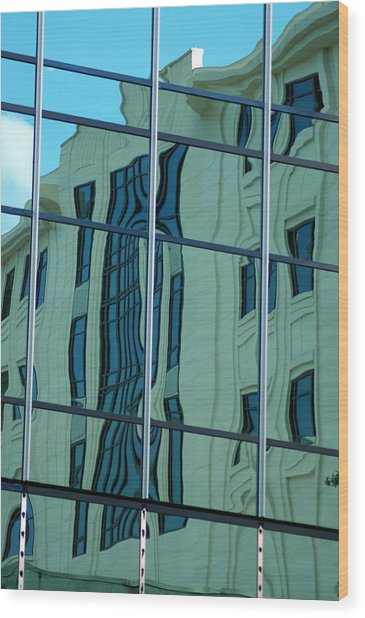 Morning Reflection Wood Print by Don Prioleau