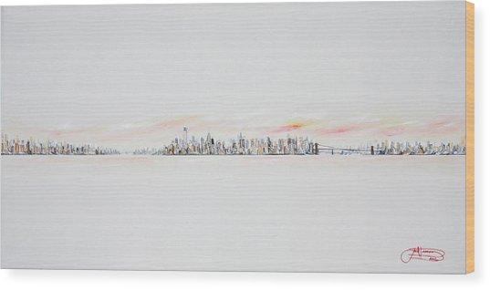 Morning Sky Wood Print