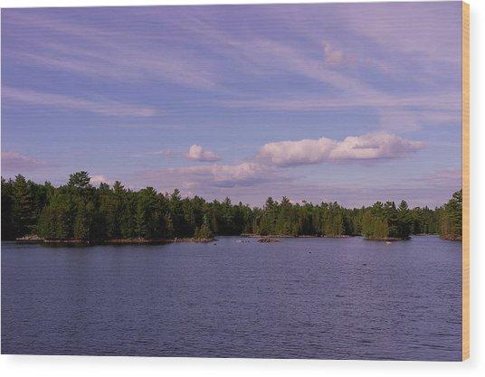 Morris Island Wood Print