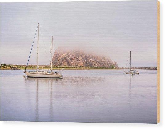 Morro Calm #3 Wood Print by Joseph S Giacalone