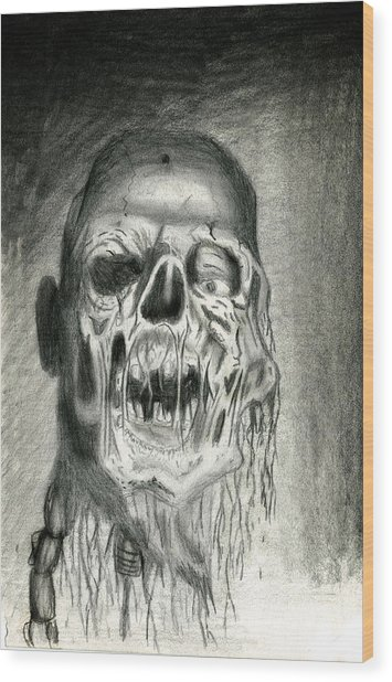 Morts Vivants Wood Print