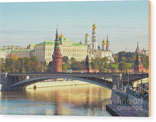 Moscow, Kremlin Wood Print