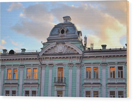 Moscow Monument Wood Print by JAMART Photography