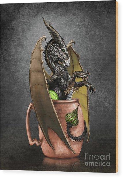 Moscow Mule Dragon Wood Print